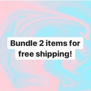 Accessories - Bundle two items and get free shipping!